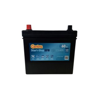 AKUMULATOR CENTRA 60Ah 520A CL605 EFB START STOP