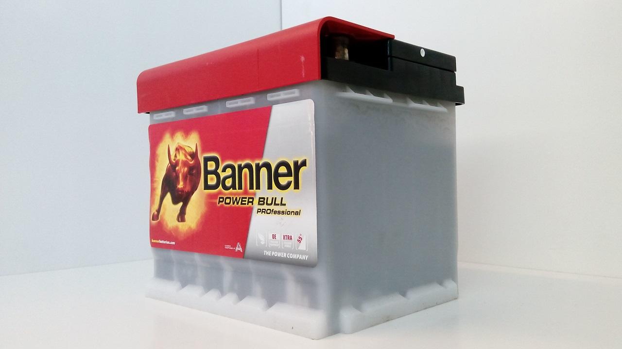 akumulator banner power bull professional 12v 50ah 420a. Black Bedroom Furniture Sets. Home Design Ideas