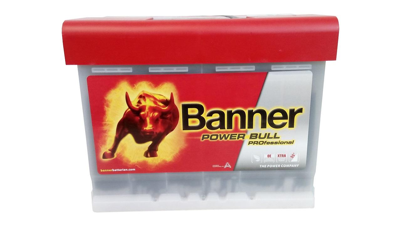 akumulator banner power bull professional 12v 63ah 600a. Black Bedroom Furniture Sets. Home Design Ideas