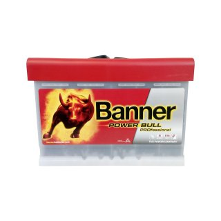 AKUMULATOR BANNER POWER BULL PROFESSIONAL 12V  77AH 700A