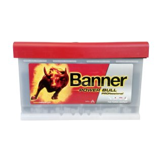 AKUMULATOR BANNER POWER BULL PROFESSIONAL 12V  84AH 760A