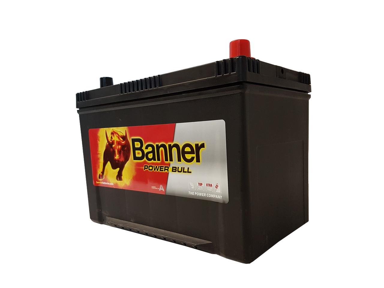 akumulator banner power bull 12v 95ah 740a prawy jap. Black Bedroom Furniture Sets. Home Design Ideas
